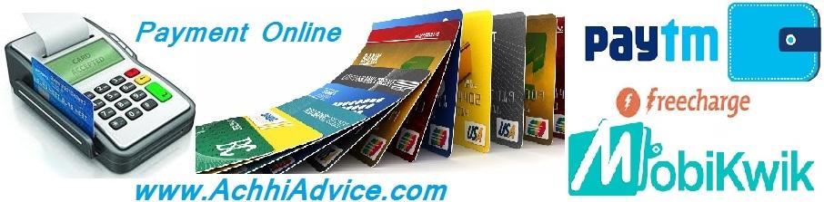 Cashless Online Payment