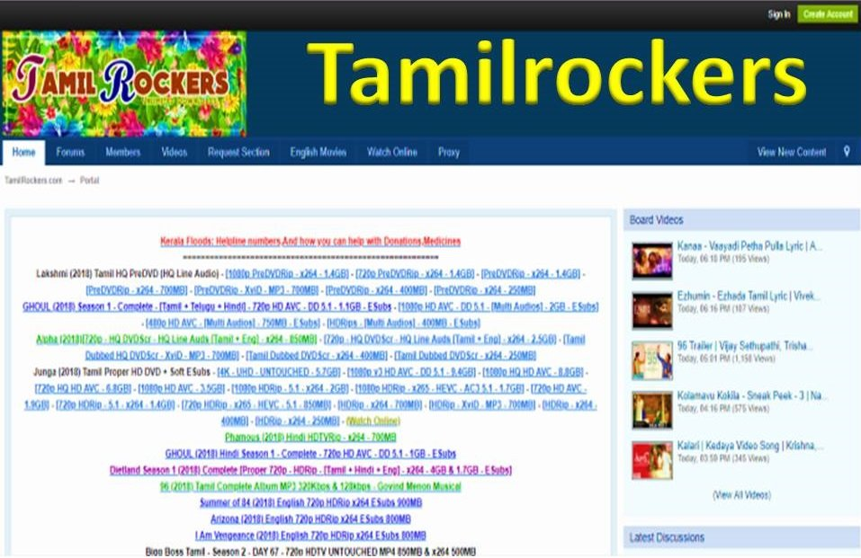 Tamilrockers Movie Download