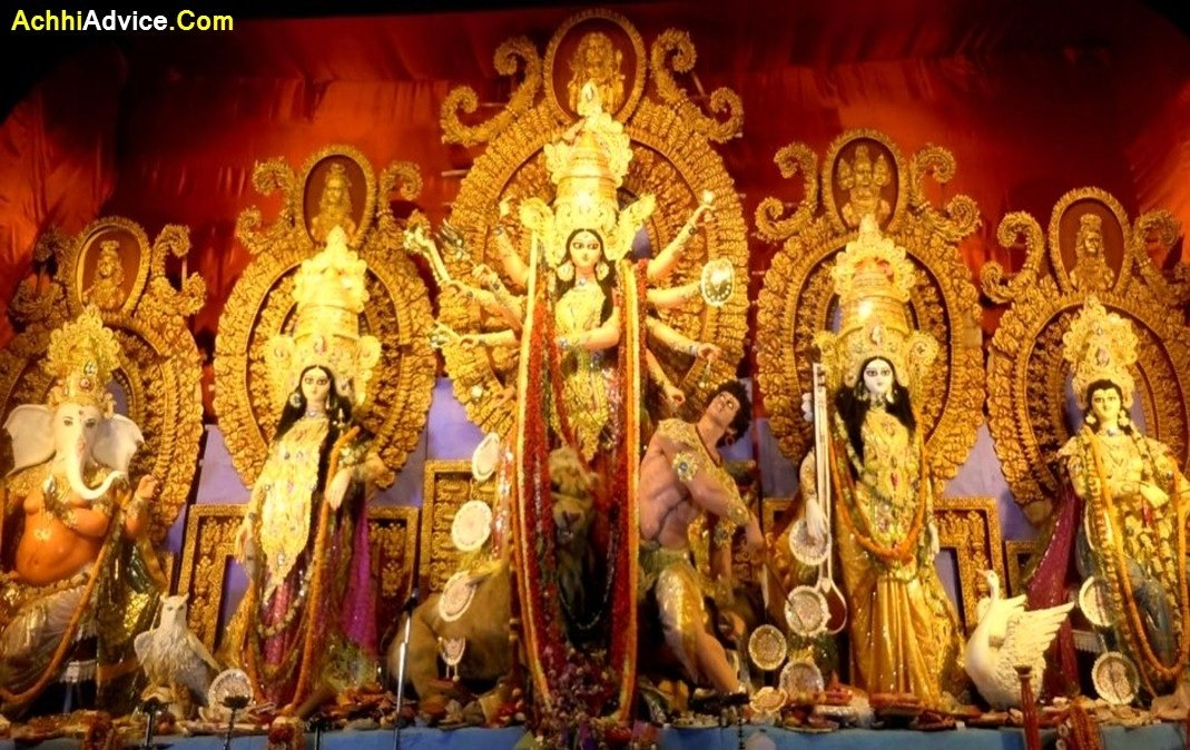 Good Morning with Happy Navratri Images